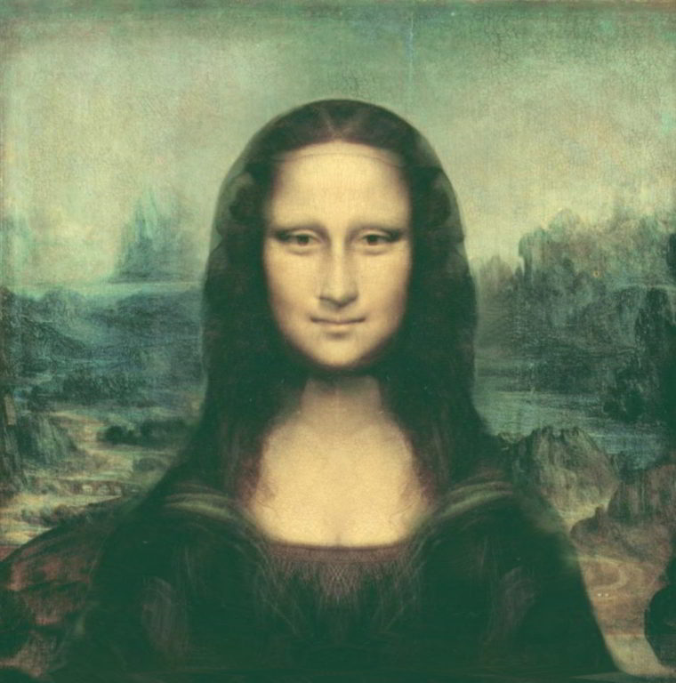 Front View Mona Lisa